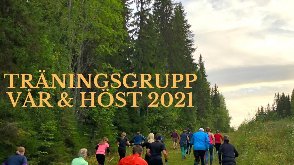 Träningsgrupp med Min Prestation Vår & Höst 2021, Östersund